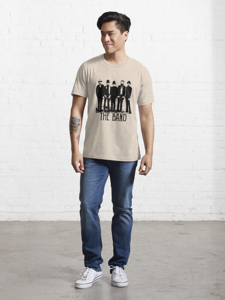 Alternate view of The Band Vintage Retro Concert  Essential T-Shirt