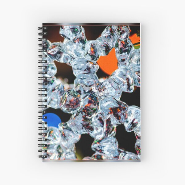 Icicle Ornament Spiral Notebook