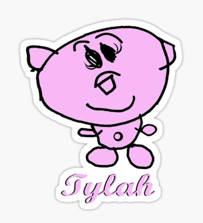Tylah Teddy Sticker