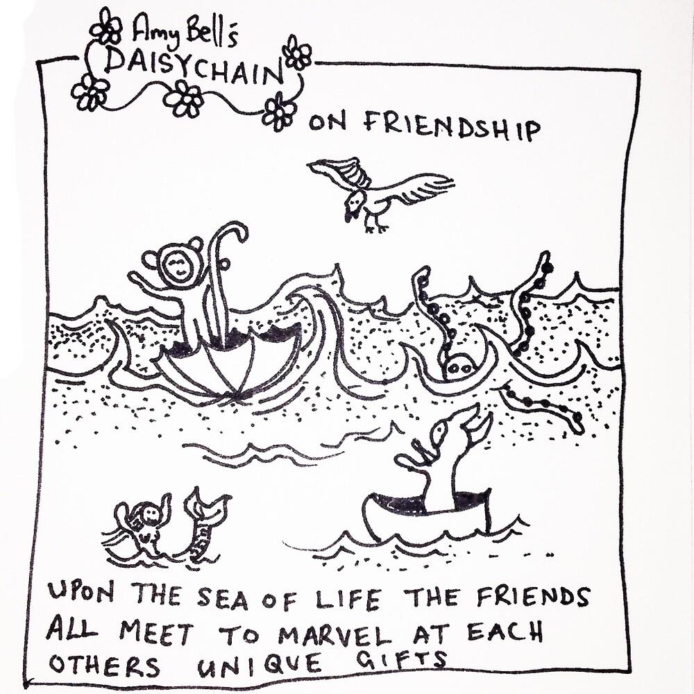 friendship by Daisycartoon