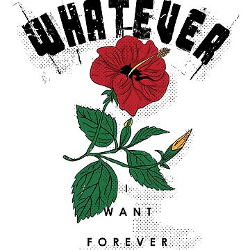 Whatever I want Forever Vintage Design by LuckyU-Design