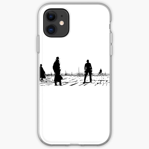 Once upon a time in the West - Sergio Leone iPhone Soft Case