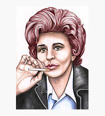 Strong women characters of Coronation Street : Elsie Tanner Photographic Print