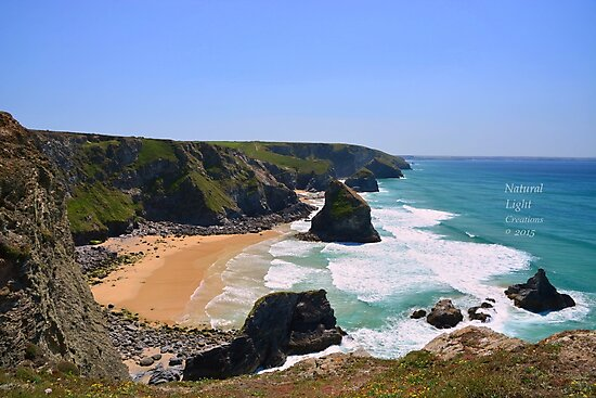 """"""" Blue Lagoons, Pentire Steps """" by Richard Couchman"""