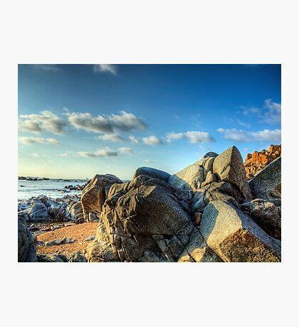 Rocks Near Torgis - Alderney Photographic Print