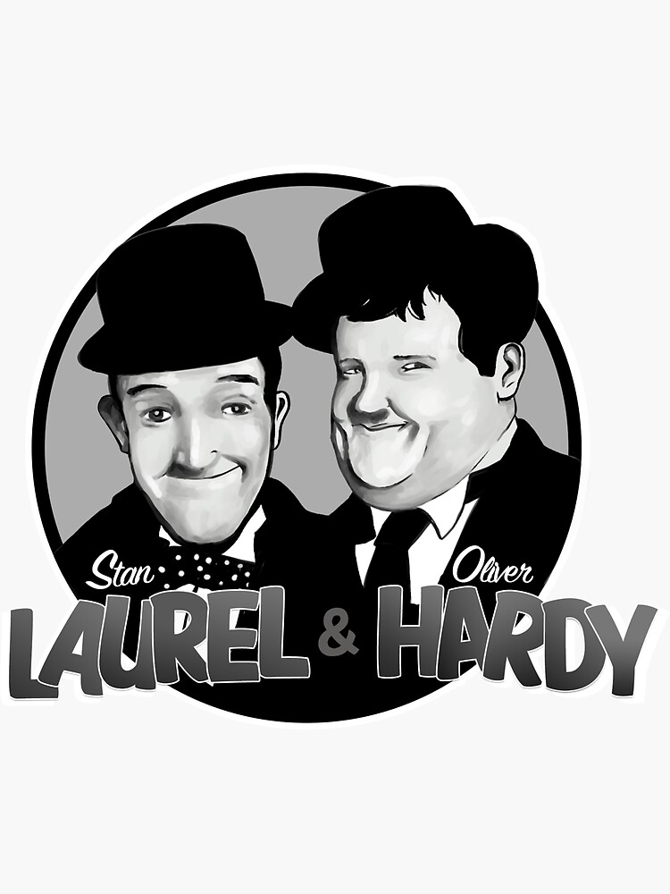 Laurel and Hardy design by BritPanopticon