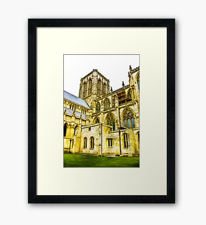 Central Tower - York Minster Framed Print