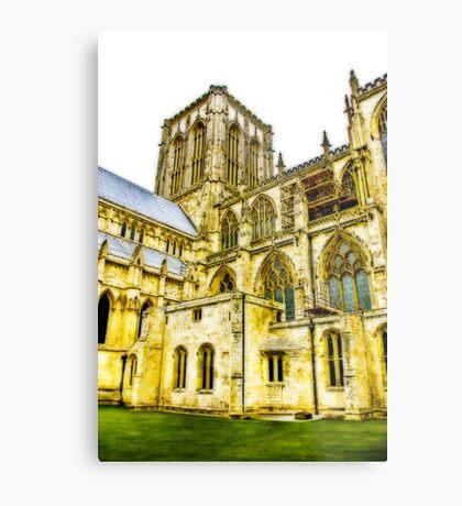 Central Tower - York Minster Metal Print
