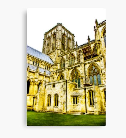 Central Tower - York Minster Canvas Print