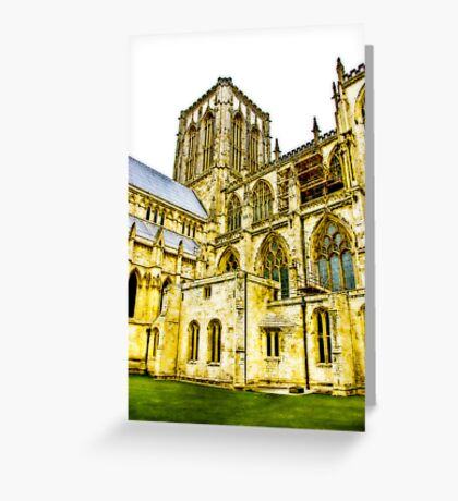 Central Tower - York Minster Greeting Card