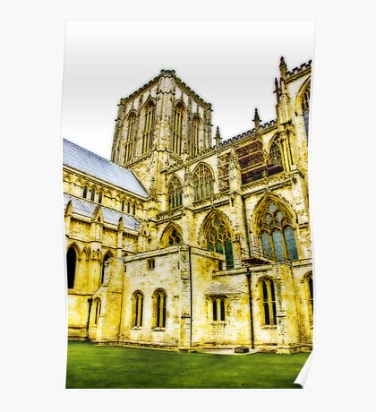 Central Tower - York Minster Poster