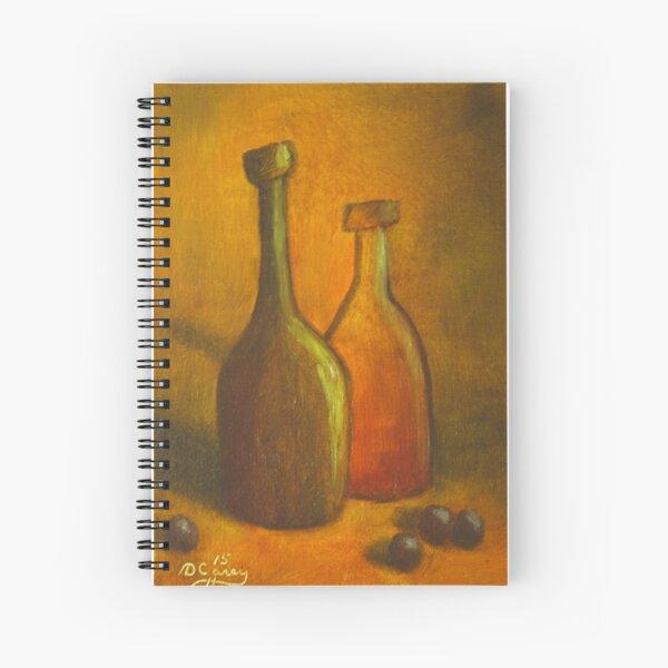 Abstract Bottles #2 Spiral Notebook