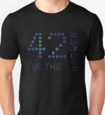 42 is the Answer Unisex T-Shirt