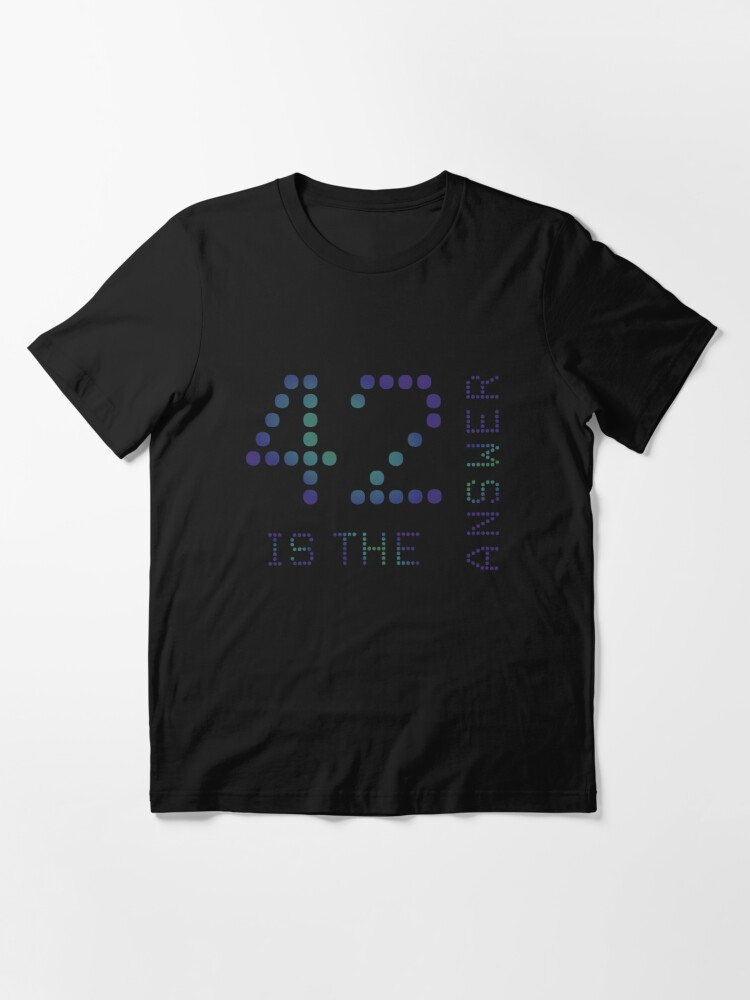 Alternate view of 42 is the Answer Essential T-Shirt
