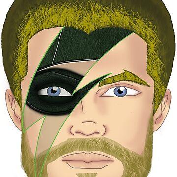 Arrow Bowie Mashup by DrawingMaurice