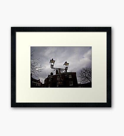 Lighting Up-Time Framed Print