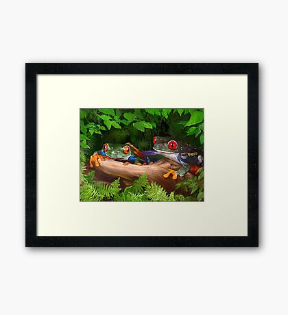 Yes Ethel, You ARE Beautiful! Framed Print
