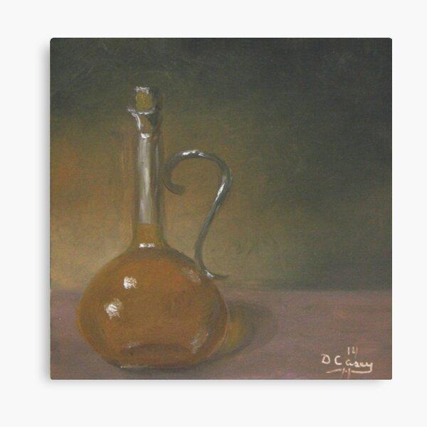 Bottle of Olive Oil #1 Canvas Print