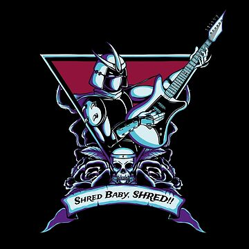 Born To Shred by monochromefrog