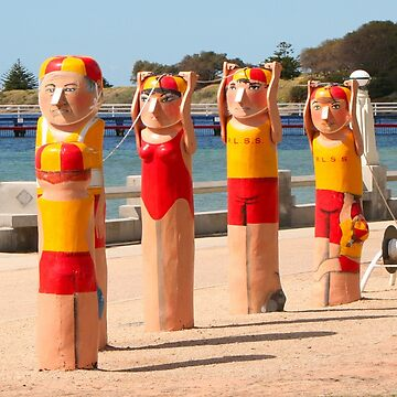 Surf life savers, Australia by FranWest