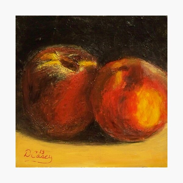 A Pair of Peaches Photographic Print