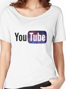 Cosmic YouTube Logo Women's Relaxed Fit T-Shirt