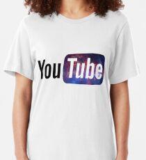 Cosmic YouTube Logo Slim Fit T-Shirt