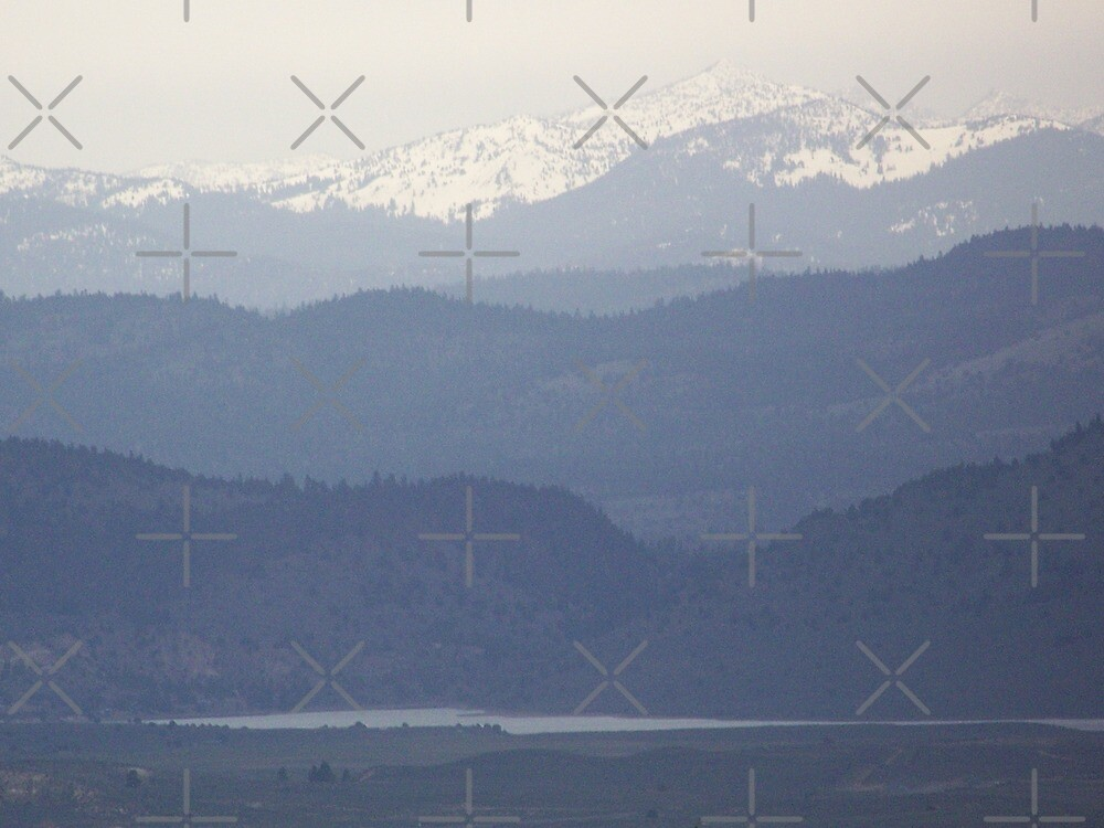 Blue Mountain Horizons by Betty  Town Duncan