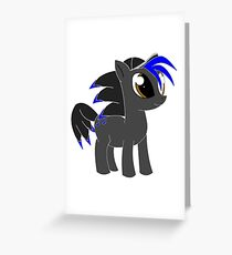 Sonic the pony Greeting Card