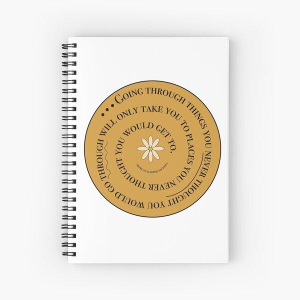 MHN Quote Spiral Notebook