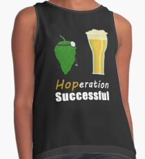 Hoperation Successful - Hops Into Beer Contrast Tank