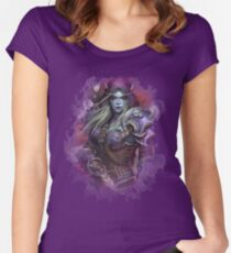 Lady Sylvanas Fitted Scoop T-Shirt