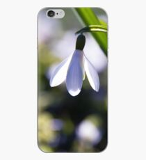 Snowdrop: Spring is here! iPhone Case