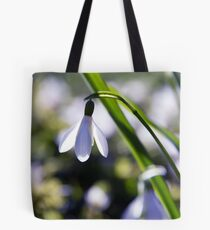 Snowdrop: Spring is here! Tote Bag