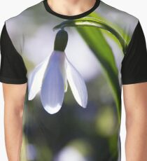 Snowdrop: Spring is here! Graphic T-Shirt