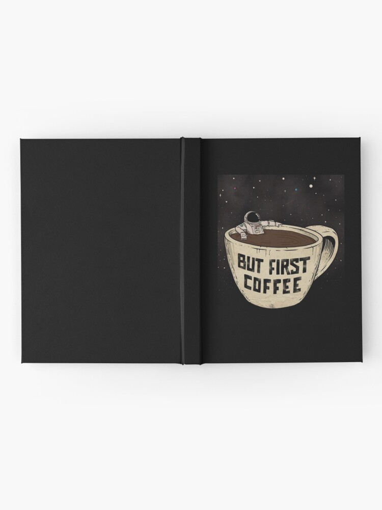 Alternate view of But First Coffee Hardcover Journal