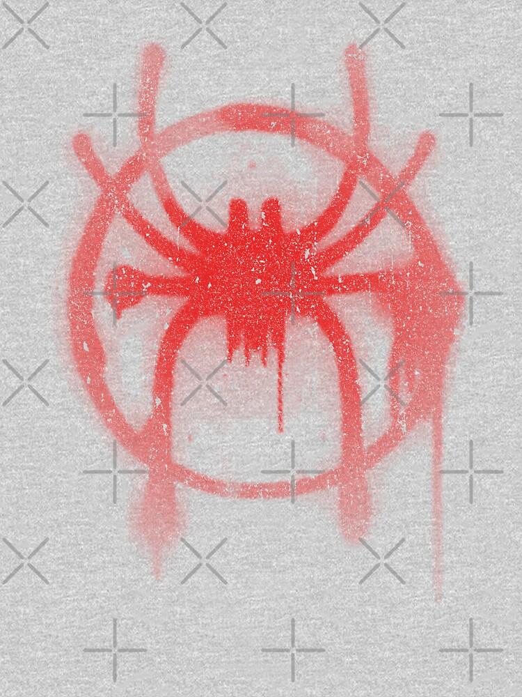 Miles Morales Spider Symbol by huckblade
