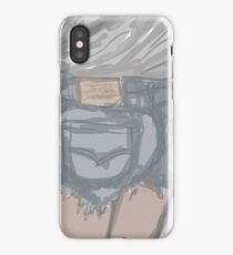 Thicke booty shorts inspiration iPhone Case/Skin