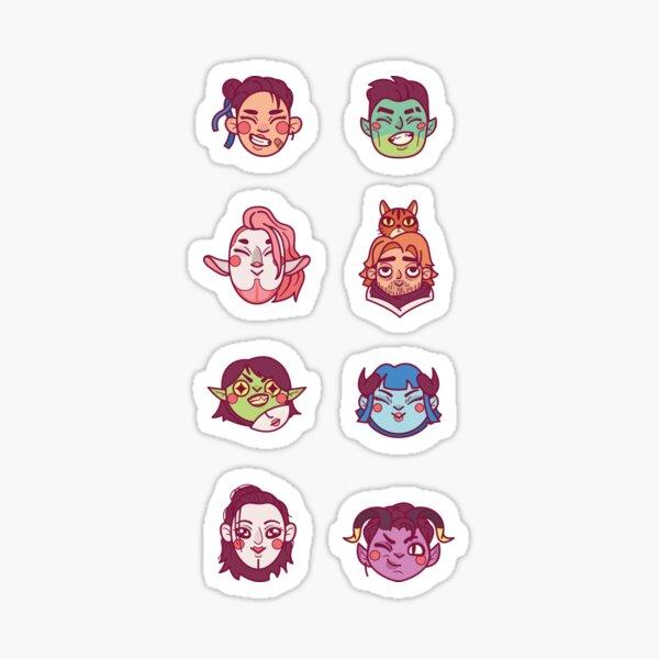 The Mighty Nein (v.2) Sticker
