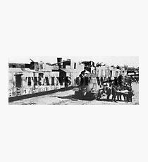 Trains of War Photographic Print