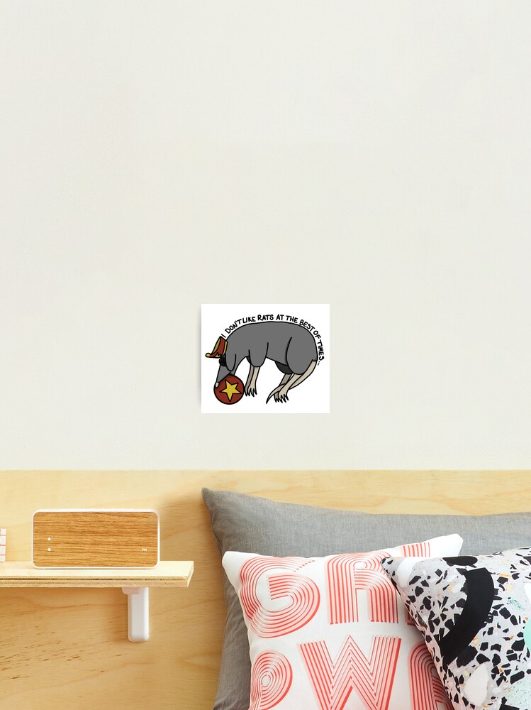 Coraline I Don T Like Rats Photographic Print By Tensespence Redbubble