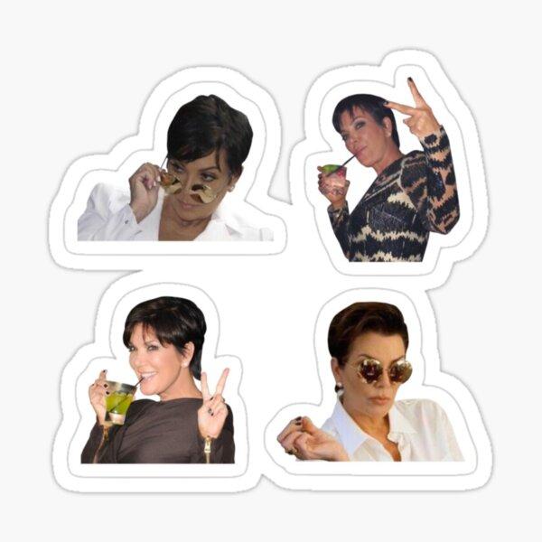 Kris Jenner Pack Sticker