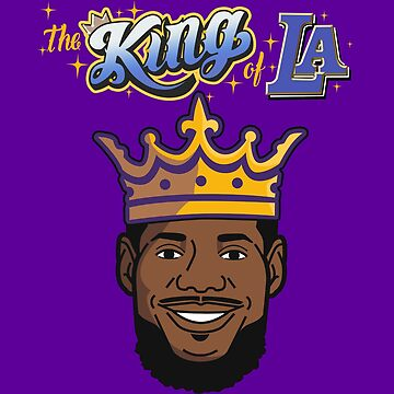 LEBRON JAMES The King of LA by 23jd45