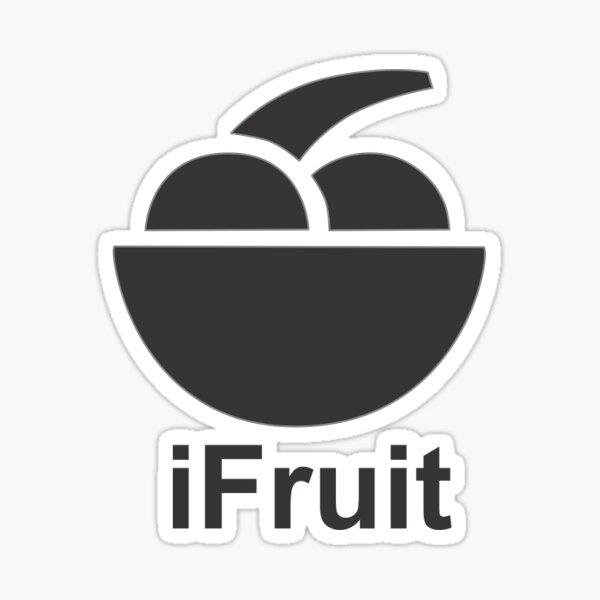 iFruit Sticker