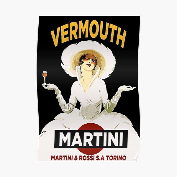 Vintage Martini Poster