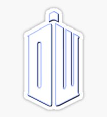 Doctor Who - Logo #3 Sticker