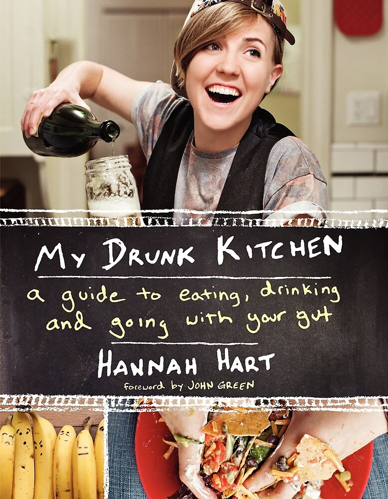 My Drunk Kitchen - a guide to eating, drinking, and going with your gut by youtubenetflix