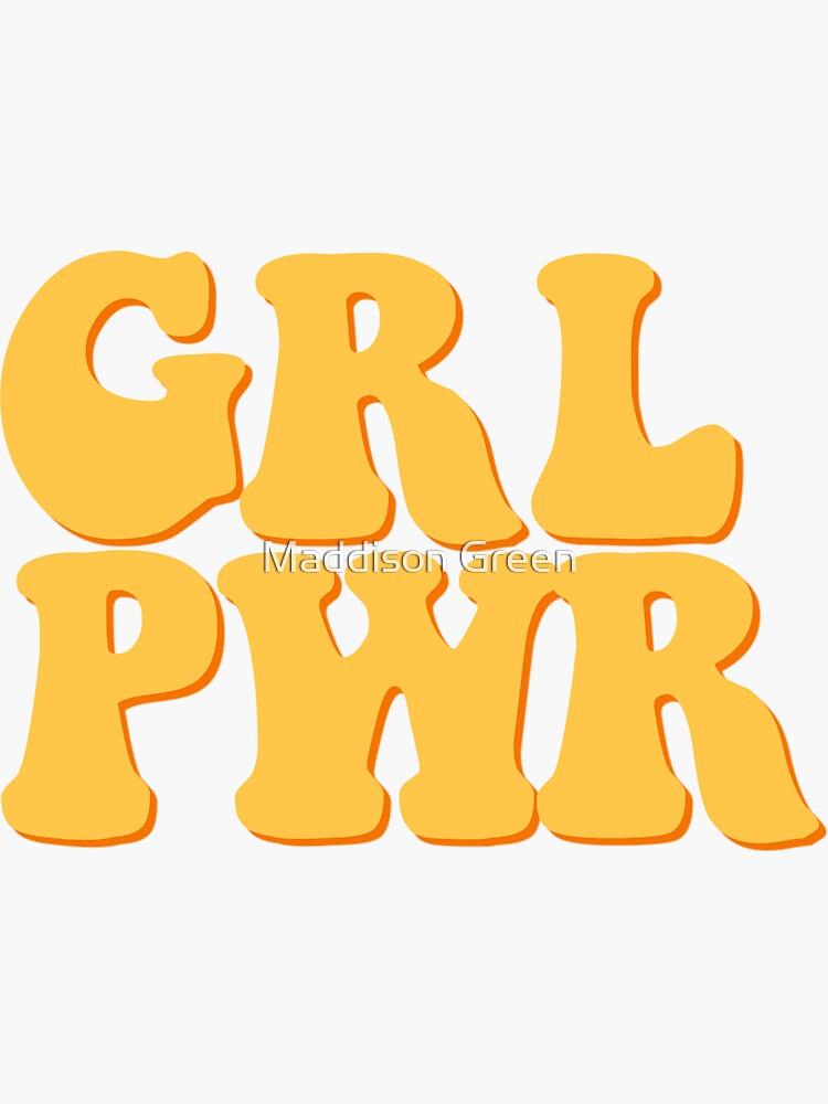 GRL PWR - Estilo 6 de maddisonegreen