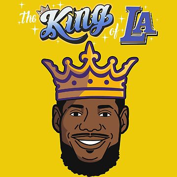 Copy of LEBRON JAMES The King of LA by 23jd45