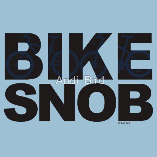 TShirtGifter presents: Bike Snob / bicycle snob - blue